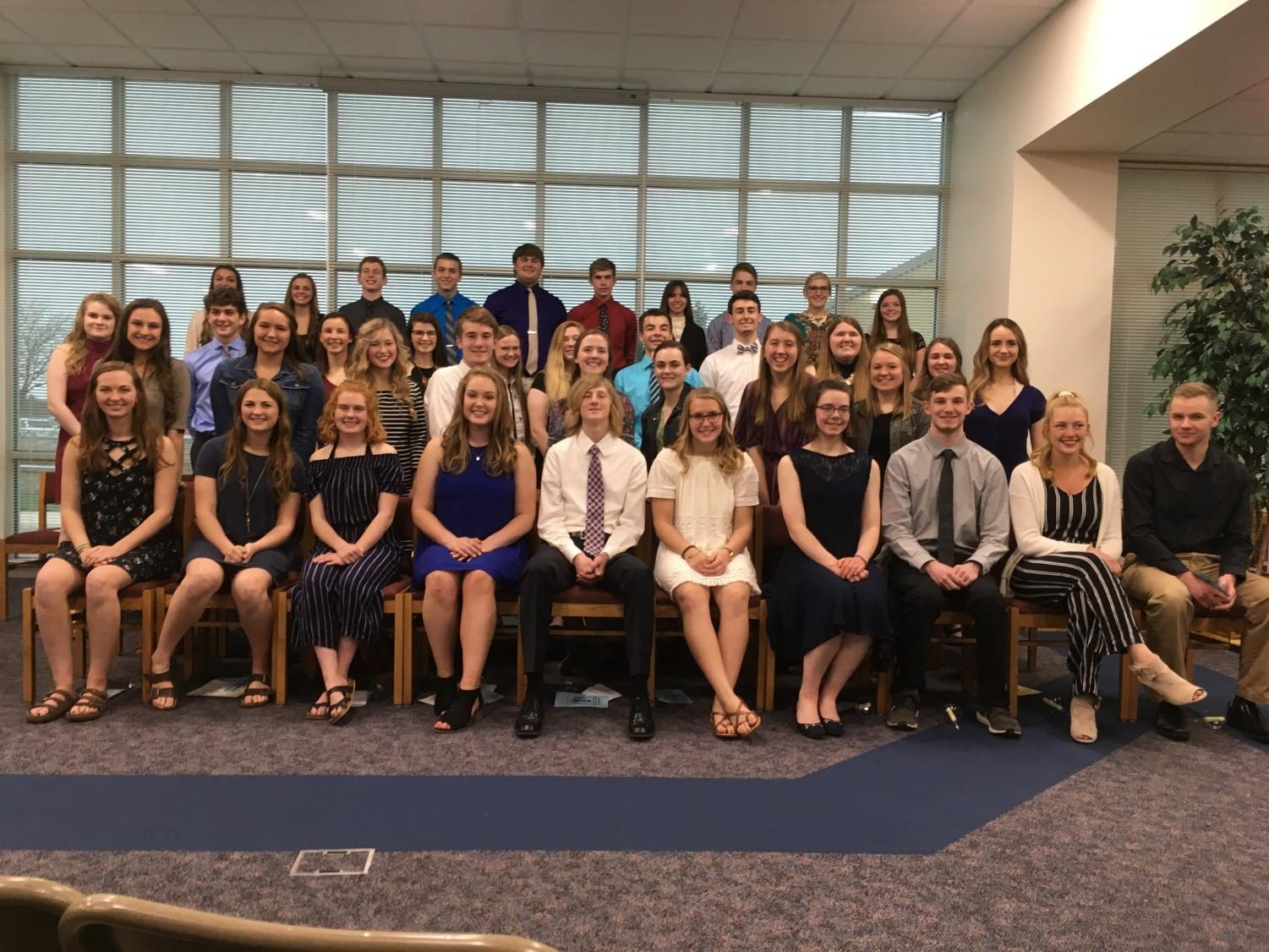 Southern Door High School National Honors Society Students