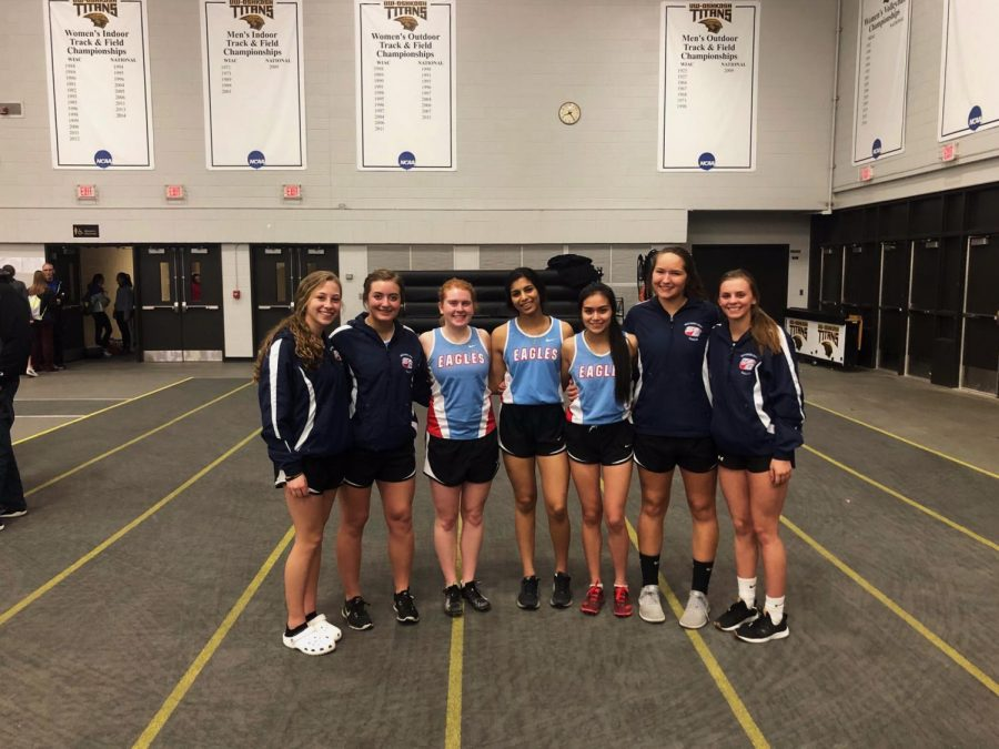 SDHS Track Girls